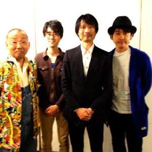 ギャラリーで撮影のあと大泉 洋さんと撮影して頂きました。木村洋二さん、野口耕太郎