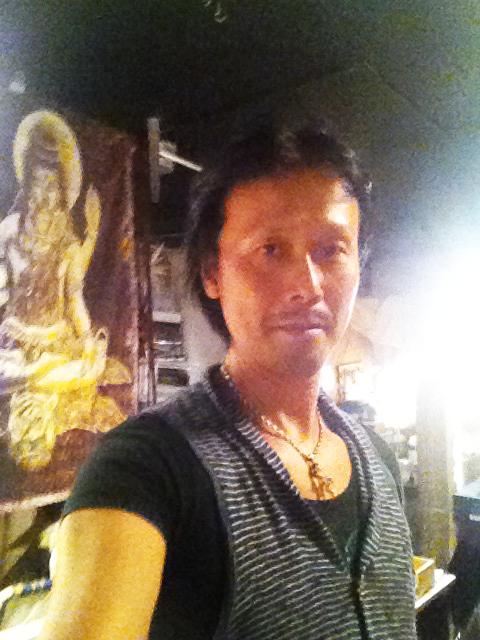 野口耕太郎 仕事場で撮影した一枚。己道のプロフィール用。